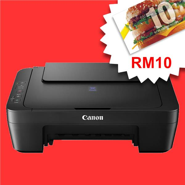 CANON E470 ALL-IN-ONE Inkjet Color Printer *FREE RM10 MCD*