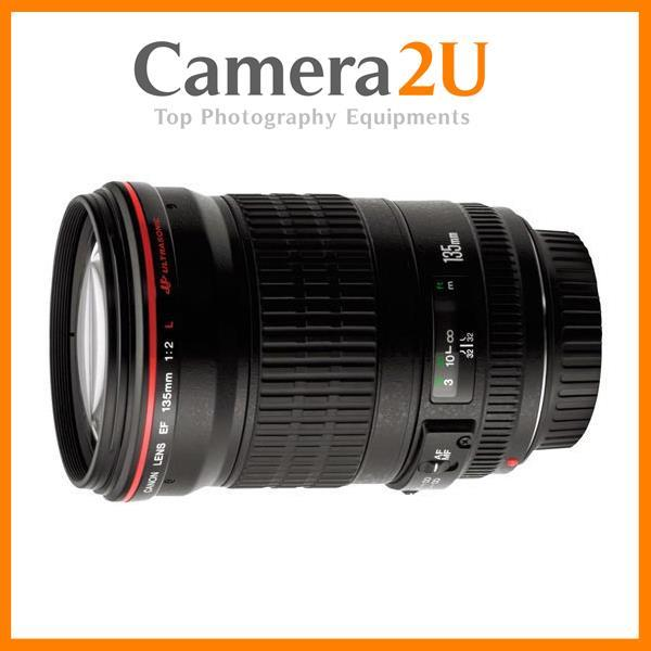 NEW Canon EF 135mm f/2L USM Lens
