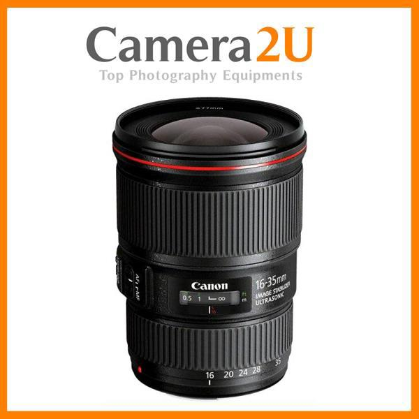 New Canon EF 16-35mm F4 L IS USM Lens (Canon MSIA)