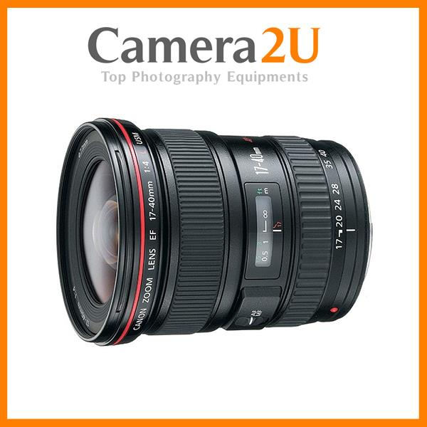 NEW Canon EF 17-40mm f/4 L USM