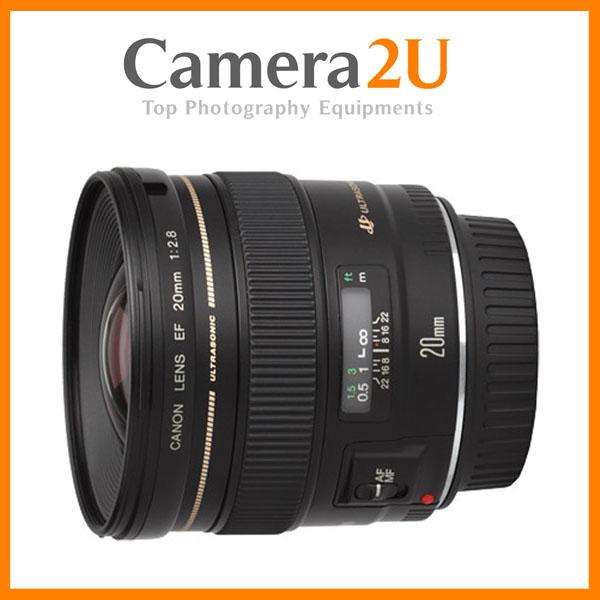 NEW Canon EF 20mm f2.8 USM Lens (Import)
