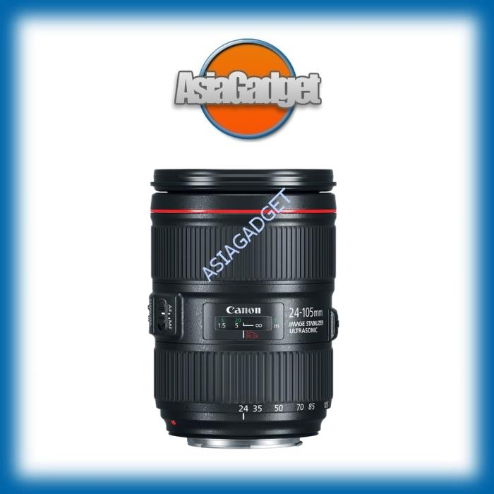Canon EF 24-105mm f/4.0 L IS II USM (Canon Malaysia)