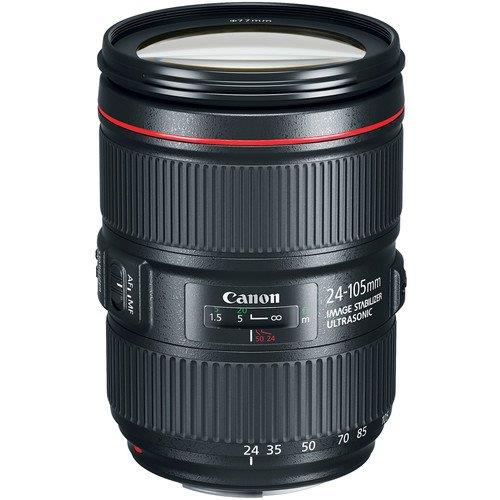 New Canon EF 24-105mm f/4L IS II USM Lens (Import)(Limited Offer)