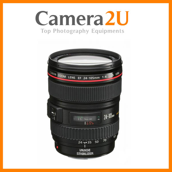 NEW Canon EF 24-105mm F4L IS USM Lens F4 L