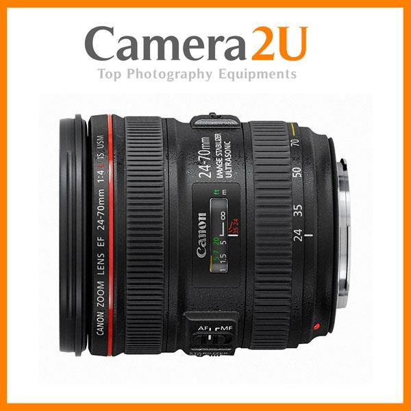 NEW Canon EF 24-70mm f/4.0 L IS USM Lens