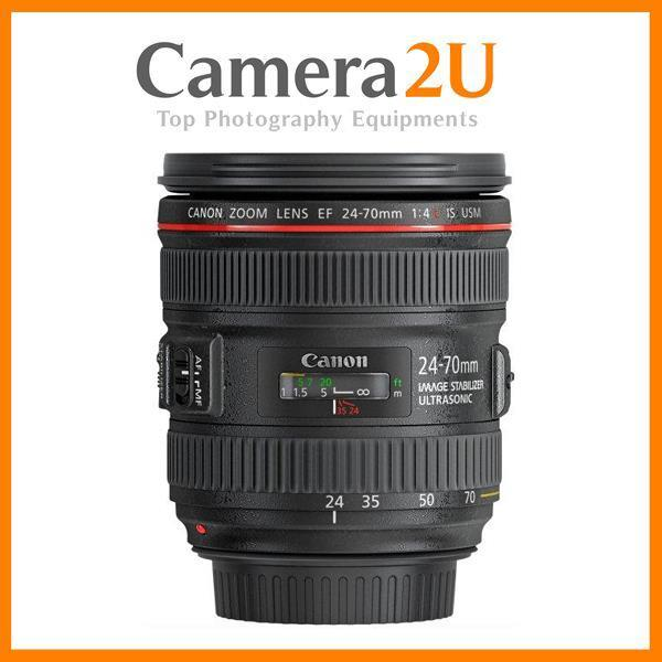 Canon EF 24-70mm f/4L IS USM Lens (MSIA)