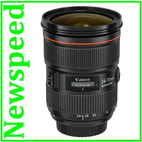 New Canon EF 24-70mm F2.8L II USM Lens (Import)