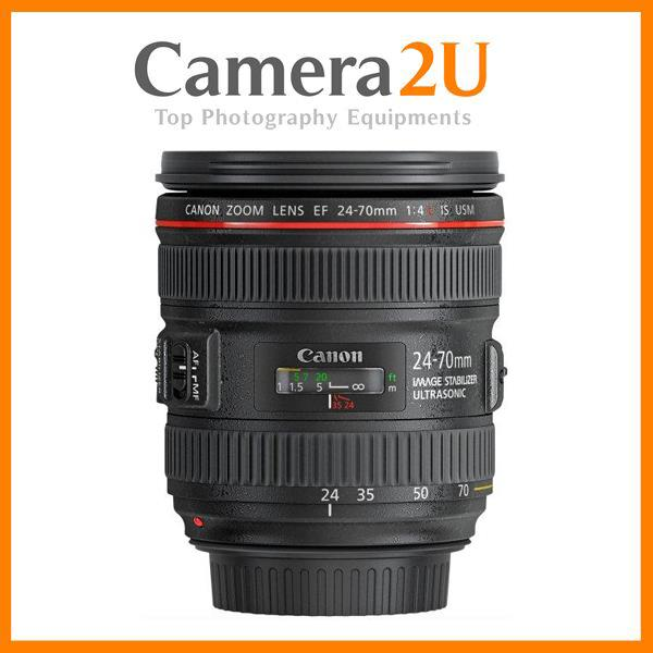 New Canon EF 24-70mm F4L IS USM Lens (Import) EF24-70mm