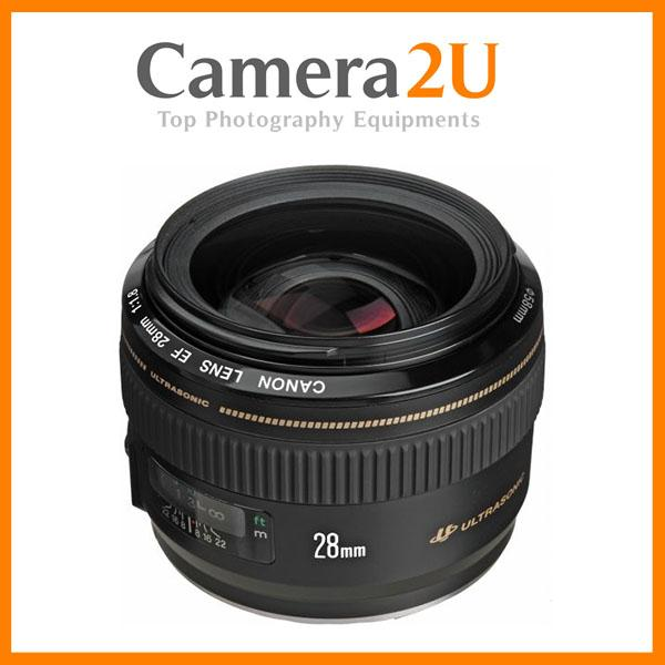 New Canon EF 28mm F1.8 USM EF28mm Lens (Import)