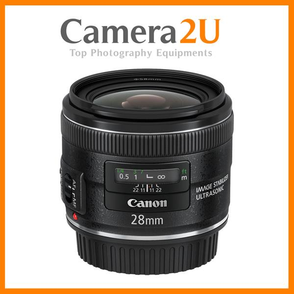 Canon EF 28mm F2.8 IS USM (Canon Msia)