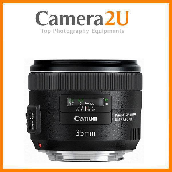 NEW Canon EF 35mm f/2.0 IS USM Lens