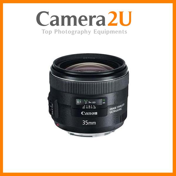 New Canon EF 35mm f/2 IS USM Lens (Import)