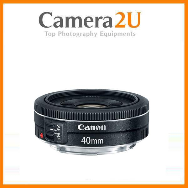 NEW Canon EF 40mm f/2.8 STM Lens