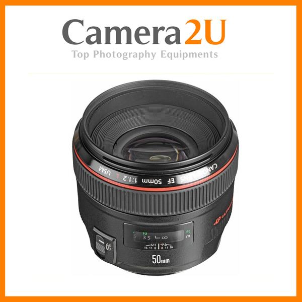 NEW Canon EF 50mm f/1.2L USM Lens