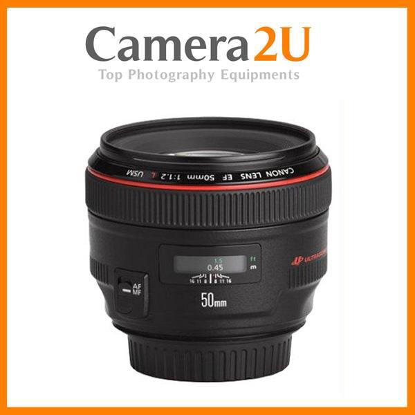 New Canon EF 50mm F1.2L USM EF50mm Lens (Import)