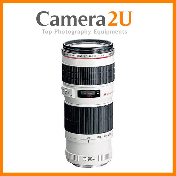 NEW Canon EF 70-200mm F/4 L USM Lens