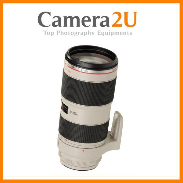 New Canon EF 70-200mm F2.8L IS II USM Lens (Import)