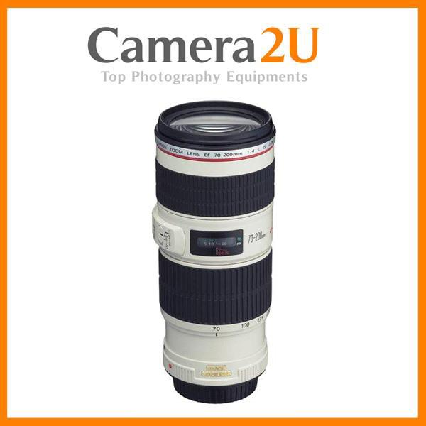 New Canon EF 70-200mm F4L IS USM Lens (Canon MSIA)