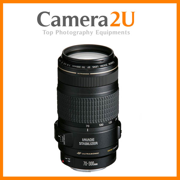 NEW Canon EF 70-300mm F4-5.6 IS USM Lens