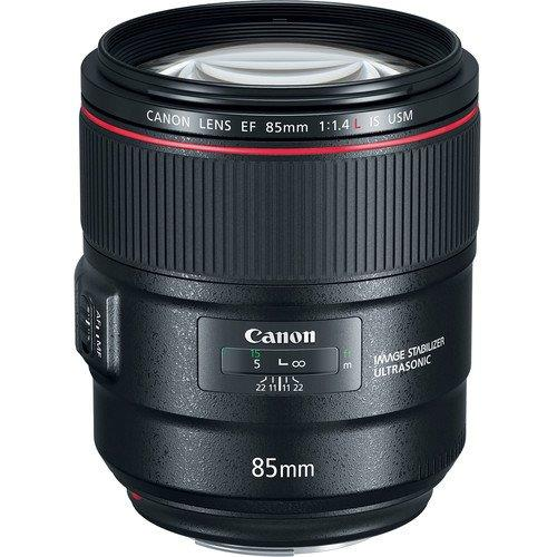 New Canon EF 85mm f/1.4L IS USM Lens (MSIA)
