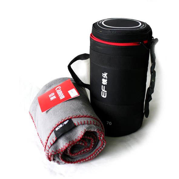 Canon EF Lens Case + Mat Pouch Bag Camera Premium Gift Set