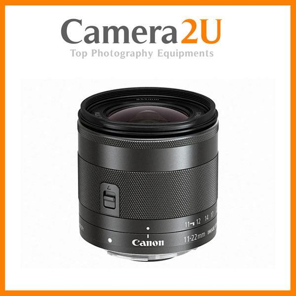 New Canon EF-M 11-22mm f/4-5.6 IS STM Lens (MSIA)