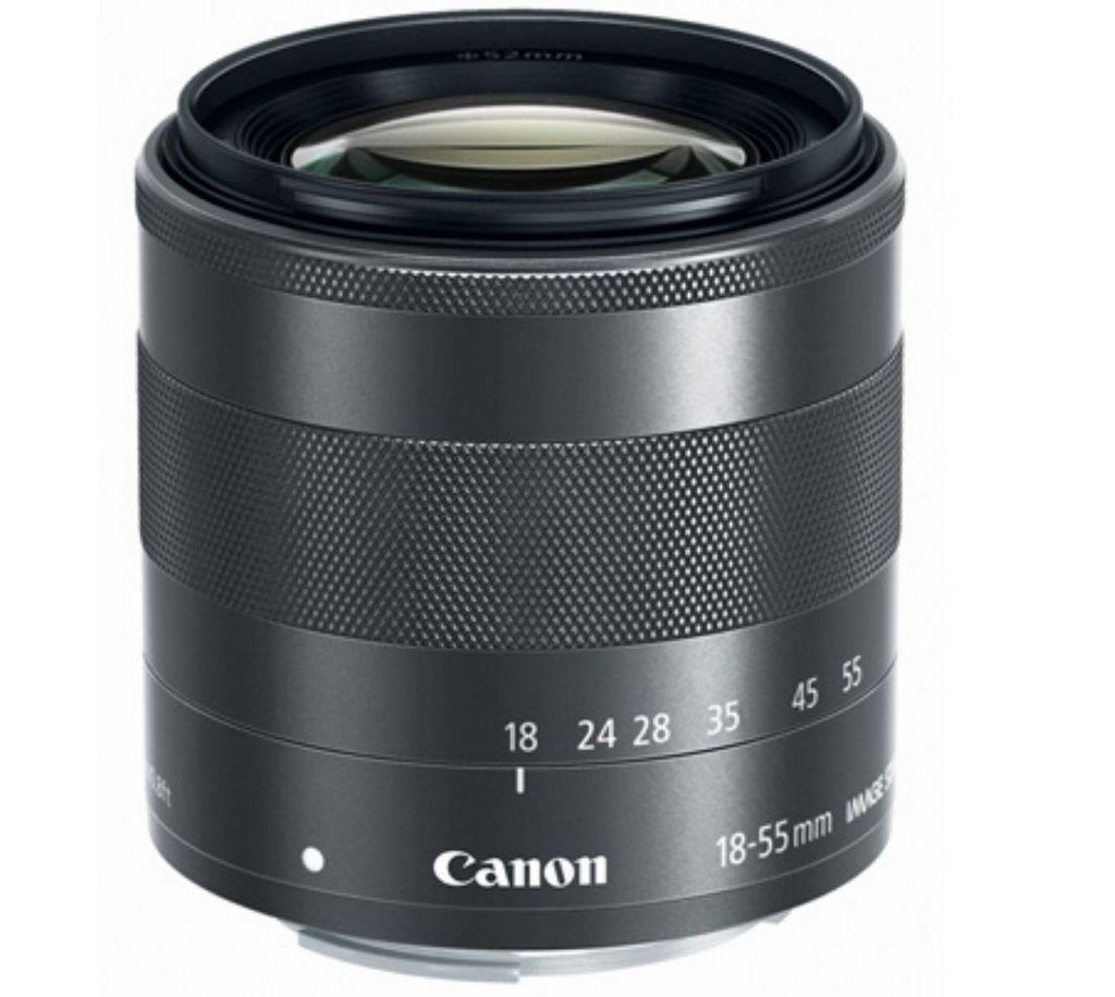 New Canon EF-M 18-55mm f/3.5-5.6 IS STM Lens (Import)
