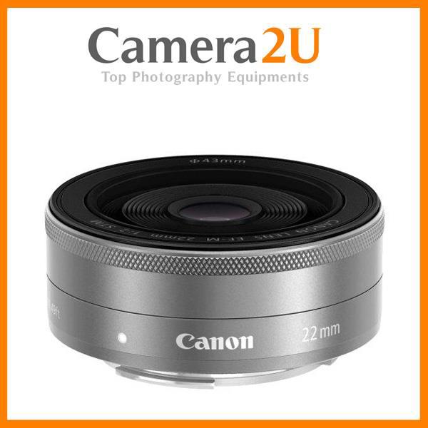 New Canon EF-M 22mm f/2 STM Lens (Import)