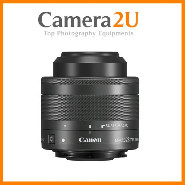 Canon EF-M 28mm f/3.5 Macro IS STM Lens (MSIA)