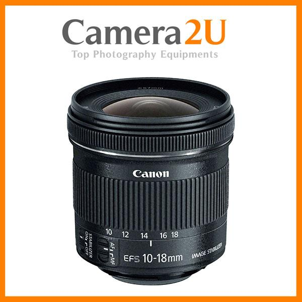 NEW Canon EF-S 10-18mm f/4.5-5.6 IS STM Lens (Canon MSIA)