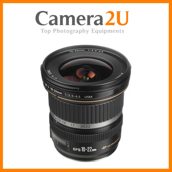New Canon EF-S 10-22mm F3.5-4.5 USM Lens (Import)