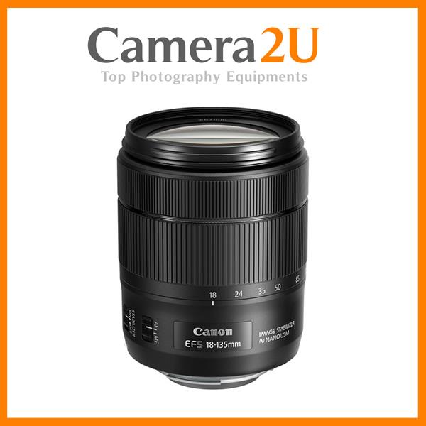 NEW Canon EF-S 18-135mm f/3.5-5.6 IS USM Lens (2016 New Version)