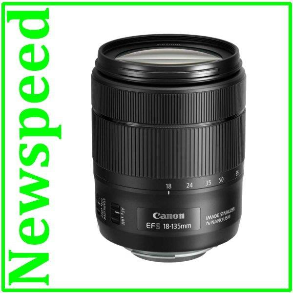 New Canon EF-S 18-135mm f/3.5-5.6 IS USM Lens (Import)