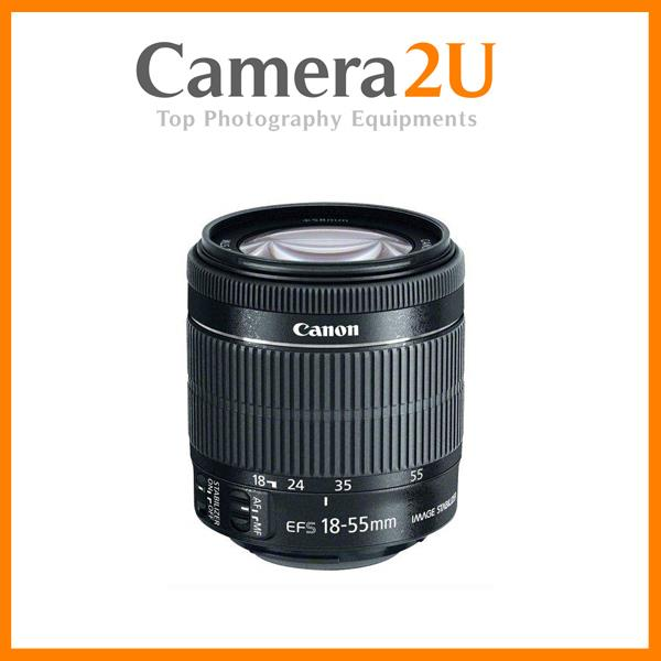 New Canon EF-S 18-55mm f/3.5-5.6 IS STM Lens (Import)