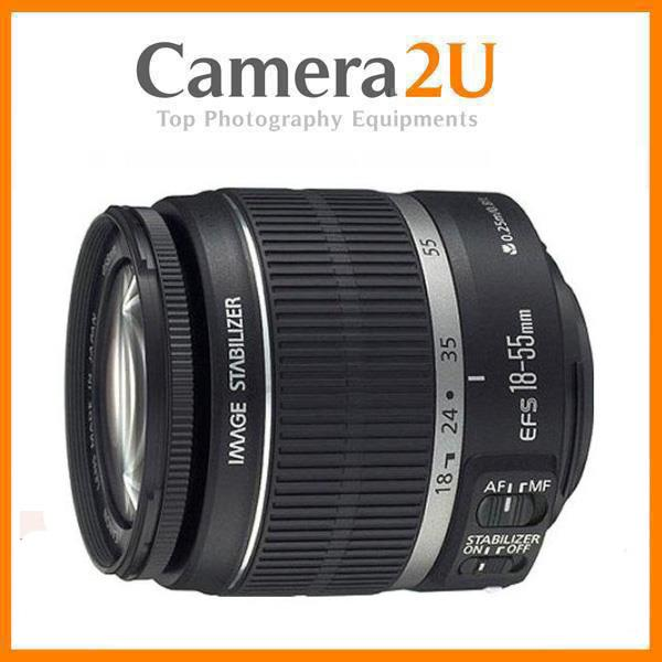 NEW Canon EF-S 18-55mm F3.5-5.6 IS II Lens