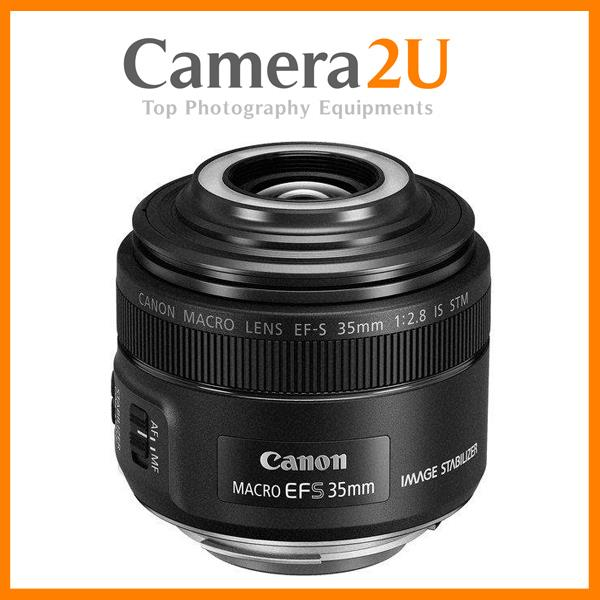 New Canon EF-S 35mm f/2.8 Macro IS STM Lens (Import)