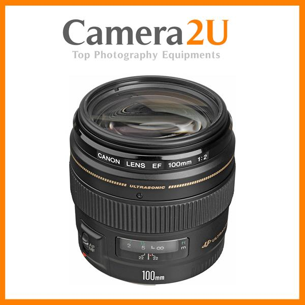 New Canon EF100mm EF 100mm F2.0 USM Lens (Import)