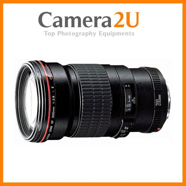 New Canon EF200mm EF 200mm F2.8 L II USM Lens (Import)