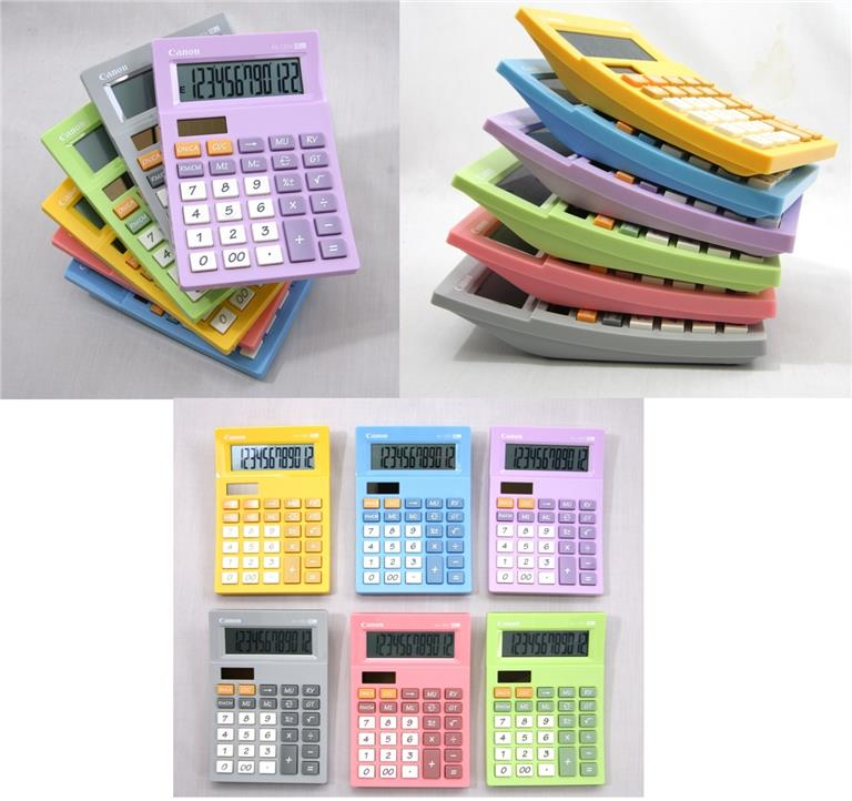 Canon Electronic Calculator AS-120V 12 Digits