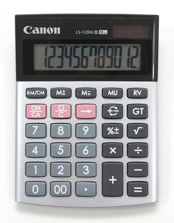 Canon Electronic Calculator LS-120Hi III 12 Digits Desktop