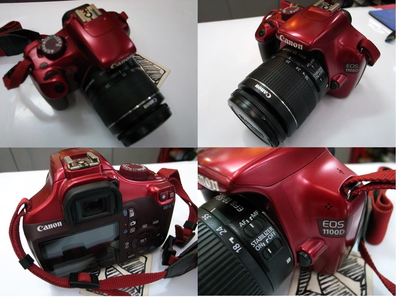 Canon Eos 1100d 18 55mm Lens Digital End 10 5 2016 715 Pm Camera Dslr Rm950