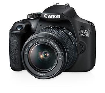 Canon EOS 1500D 18-55mm IS II Kit +32GB+Bag (Import)
