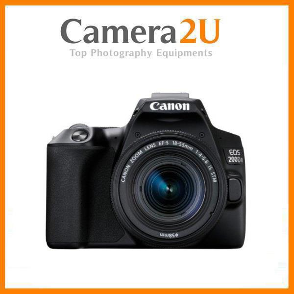 Canon EOS 200D II Body with EF-S 18-55mm IS STM Lens +32GB+Bag (MSIA)