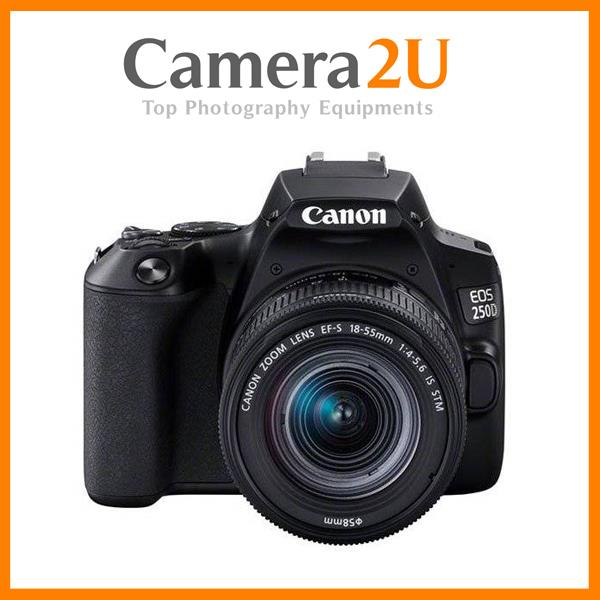 Canon EOS 250D with 18-55mm IS STM Lens Kit+32GB +Bag (Import)