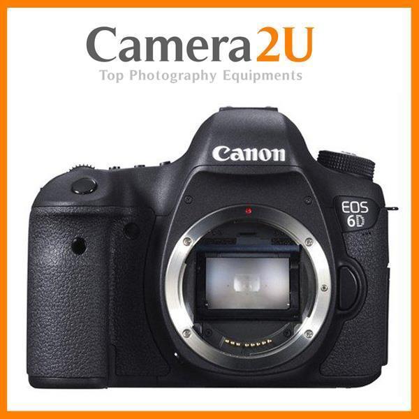 Canon EOS 6D Body Digital DSLR Camera (Canon MSIA) + Extra Ori Batt