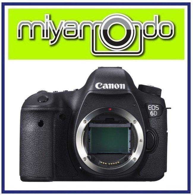 NEW Canon EOS 6D Body Full Frame DSLR Camera