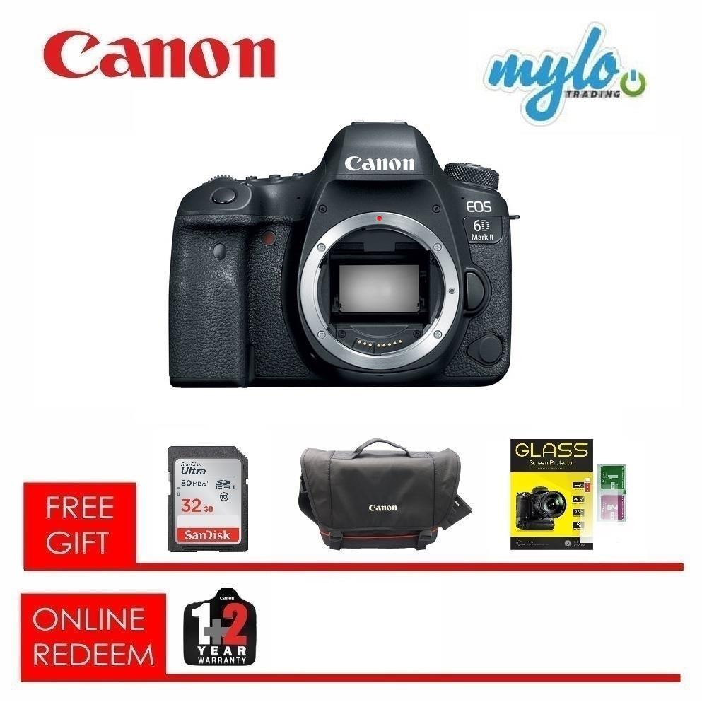 Canon EOS 6D Mark II DSLR Camera (Bo (end 1/26/2020 1:15 PM)