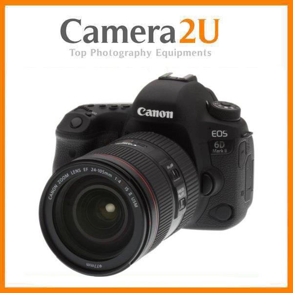 Canon EOS 6D Mark MK 2 II 24-105mm Free 64GB Ext Pro+CashBack RM1000