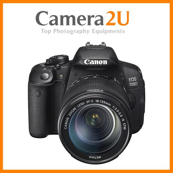 NEW Canon EOS 700D DSLR Camera With 18-135mm STM Lens + 16GB + Bag