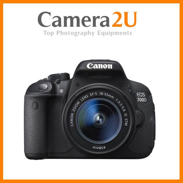 NEW Canon EOS 700D DSLR Camera With 18-55mm Lens + 16GB + Bag